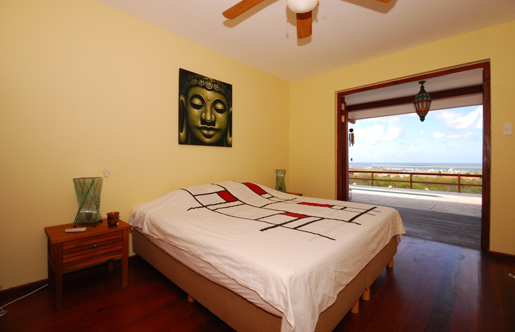 One of the extra bedrooms