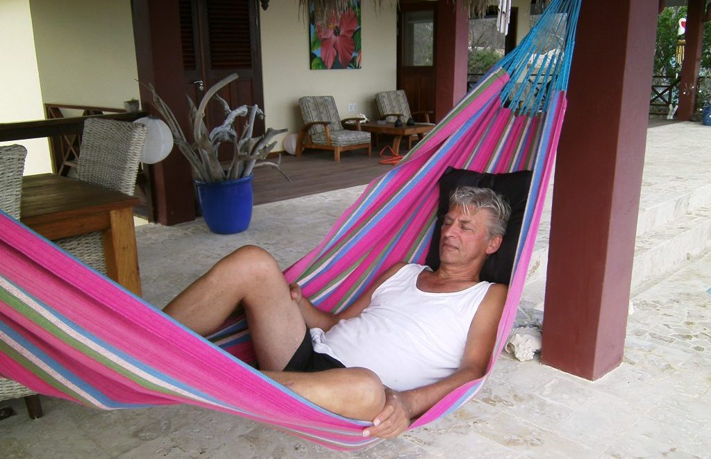Just laze in the hammock